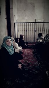 praying maghrib at the blue mosque (sultan ahmet), Istanbul